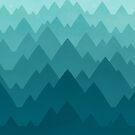 Mountain Vista: Green by Waynem79