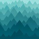 Mountain Vista: Green by Wayne Minnis