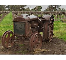 Vintage Fordson Tractor By David Hunt Redbubble