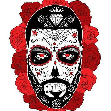 BACK PRINT - Day of the dead -  Día de Muertos by RobskiArt