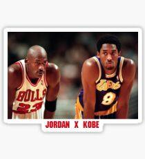 Jordan X Kobe Sticker