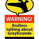 Endless talking hazard sign by RichSkipworth