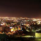 Amman At night.  by ayham Salameh