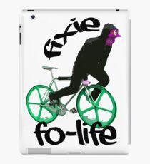 Fixie for life iPad Case/Skin