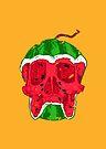Watermelon skull by Evgenia Chuvardina