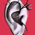 Ear Monster Weird Art by Boriana Giormova