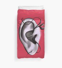 Ear Monster Weird Art Duvet Cover