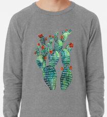 green cacti garden Lightweight Sweatshirt
