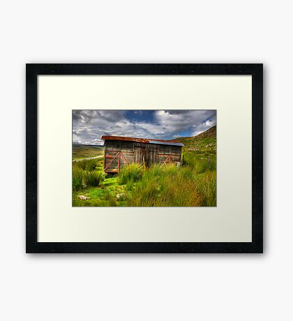 Abandoned Wagon #2 Framed Print