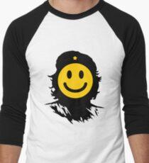 Che smiley Men's Baseball ¾ T-Shirt