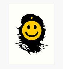 Che smiley Art Print