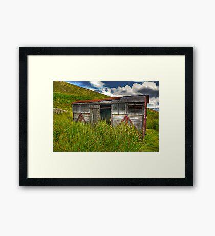 Abandoned Wagon #3 Framed Print