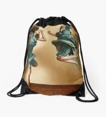 Out of sync Drawstring Bag