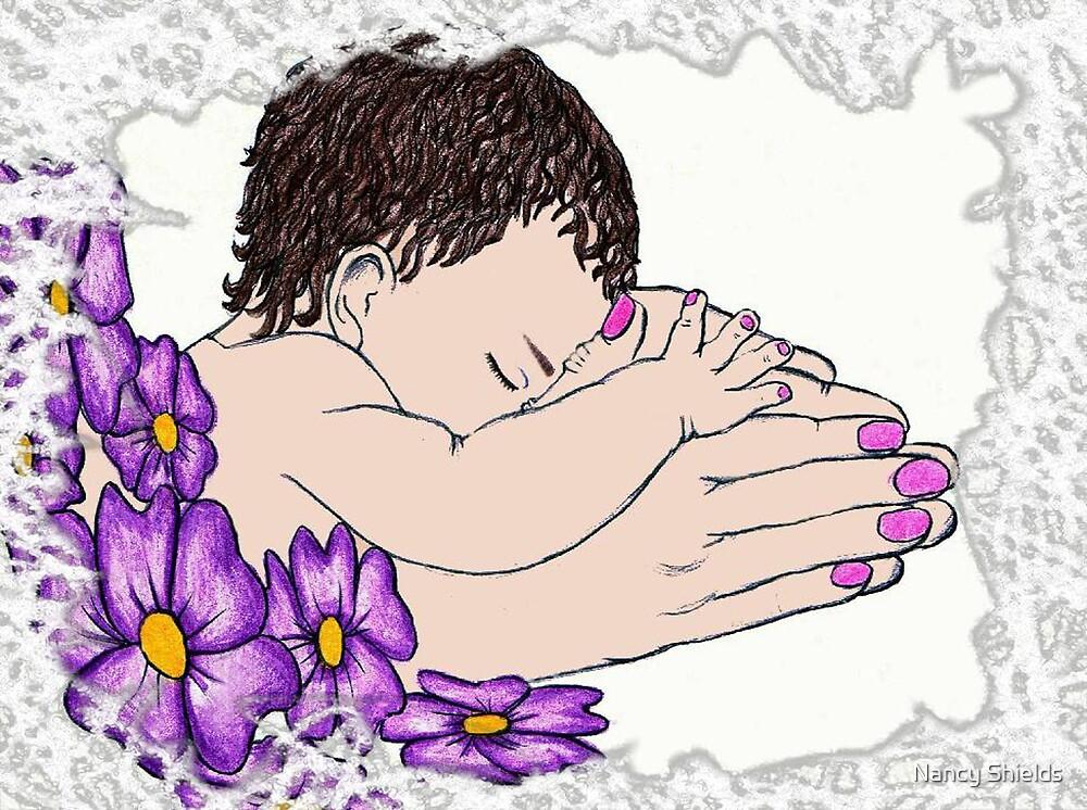 Mothers Hands by Nancy Shields