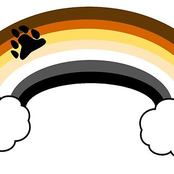 Bear Rainbow Pride Design by Swifty118247