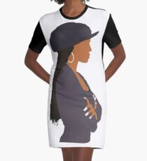 Janet Jackson - Poetic Justice  Graphic T-Shirt Dress