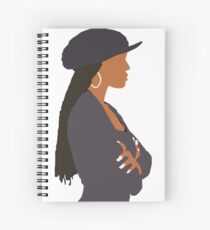 Janet Jackson - Poetic Justice  Spiral Notebook