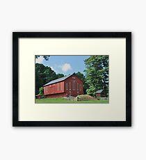 Healthy Barn Framed Print