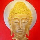 Golden Buddha by HippyDi