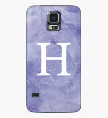 Violet Watercolor Η Case/Skin for Samsung Galaxy