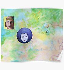Celestial Dreamtime Poster