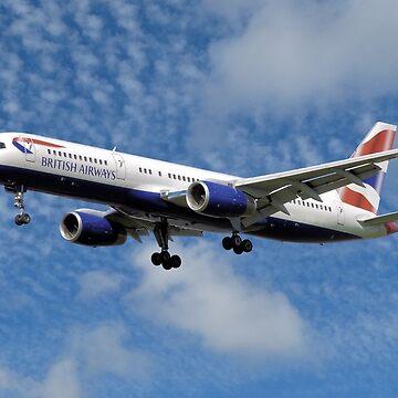 British Airways Boeing 757-200 by stuartk