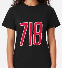 718 Area Code Gift for New Yorkers Classic T-Shirt