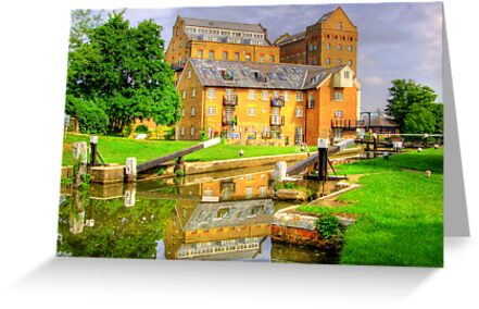 Coxes Lock and Mill HDR by Colin  Williams Photography
