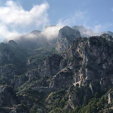 Amalfi Mountains by vwells