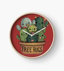 cute cactus Clock