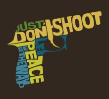 just don't shoot: colour by PixelProtest