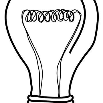 Light bulb by Maridac