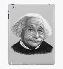 Albert Einstein Caricature iPad Case/Skin