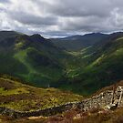 The Lake District: View up the Langstrath Valley by Rob Parsons (AKA Just a Walker with a Camera)
