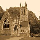 Neo Gothic church Kylemore. Connemara, County Galway. by Finbarr Reilly