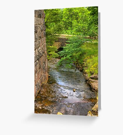 Stream Crossing -  Dentdale Greeting Card