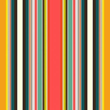 retro stripe by scrummy
