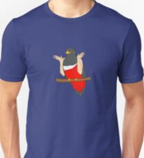 Shrugging Bird With Arms T-Shirt