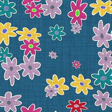 floral pattern by MallsD