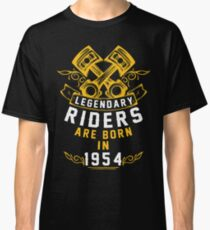 Legendary Riders Are Born In 1954 Classic T-Shirt