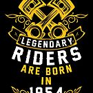 Legendary Riders Are Born In 1954 by wantneedlove