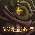 A Snake Pit Filled of Lies and Deception. by THQOfficial