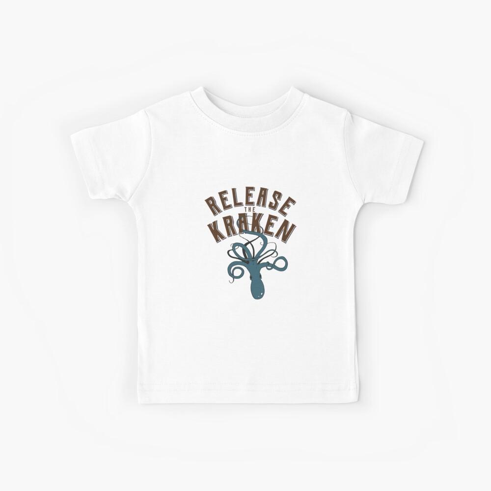 Lass den Kraken los! Kinder T-Shirt