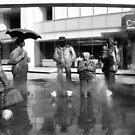 "Rainy statues by "" RiSH """
