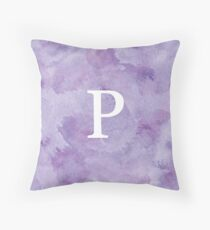 Grape Watercolor Ρ Throw Pillow