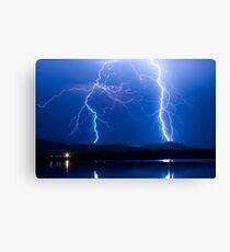 Lightning Thunderstorm 08.05.09 Canvas Print