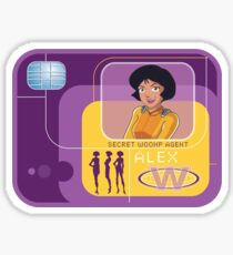 Totally spies Alex badge Sticker