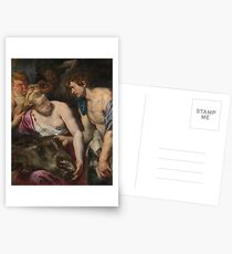 Atalanta and Meleager by Peter Paul Rubens Postcards