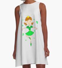 St Patricks Day Irish Princess A-Line Dress