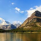 Glacier National Park Mountains by Kay Brewer